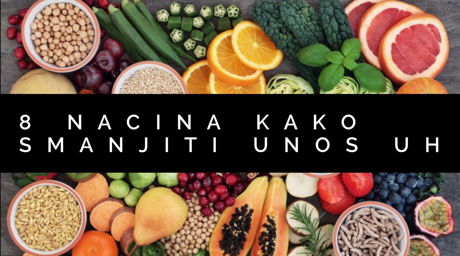 8 nacina da smanjiš unos UH